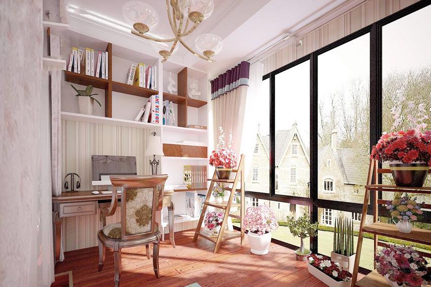 美式田园装修风格书房特点及美式田园装修风格书房如何设计
