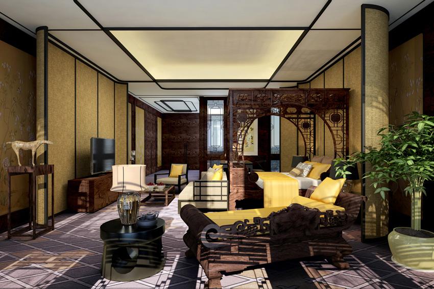 新古典装修风格设计说明;中式新古典装修风格的特点要素