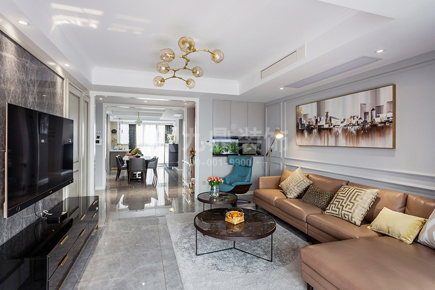后现代轻奢风格家具由哪些元素特点形成的?