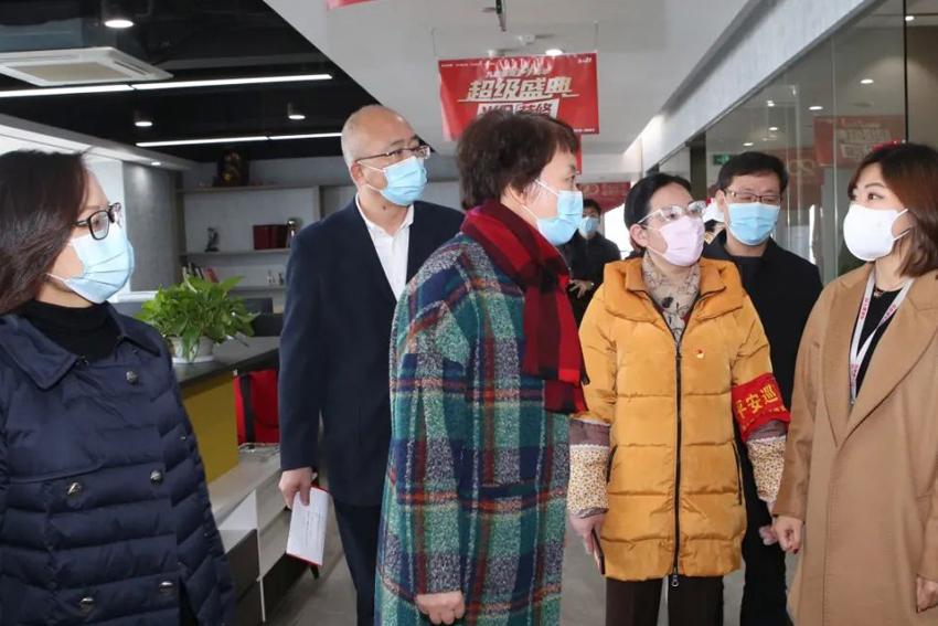 【温暖疫情 共克时艰】萧山区委书记佟桂莉莅临 亲切关怀我司援鄂家属